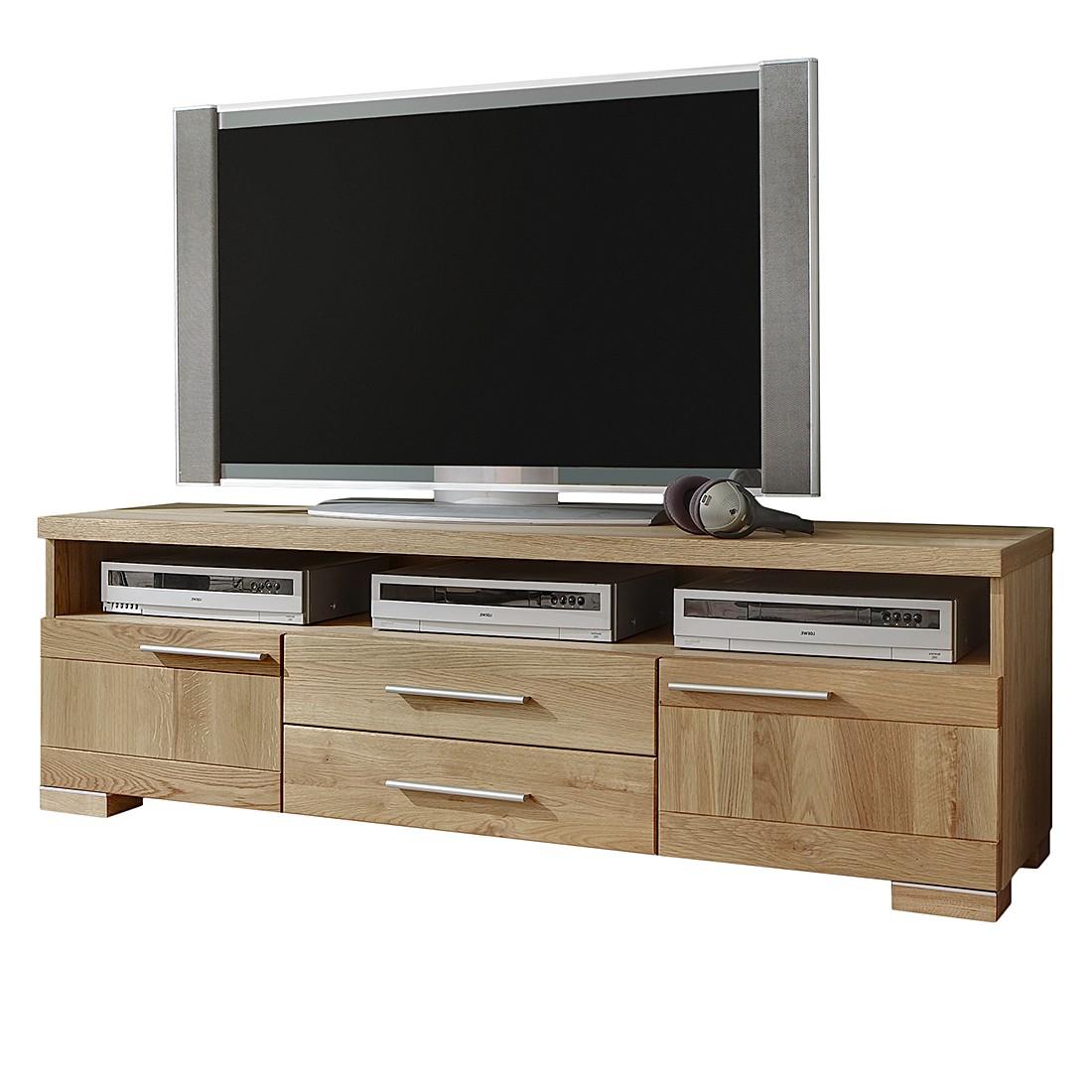 TV-Lowboard Bovino II – Wildeiche teilmassiv, Ars Natura online kaufen