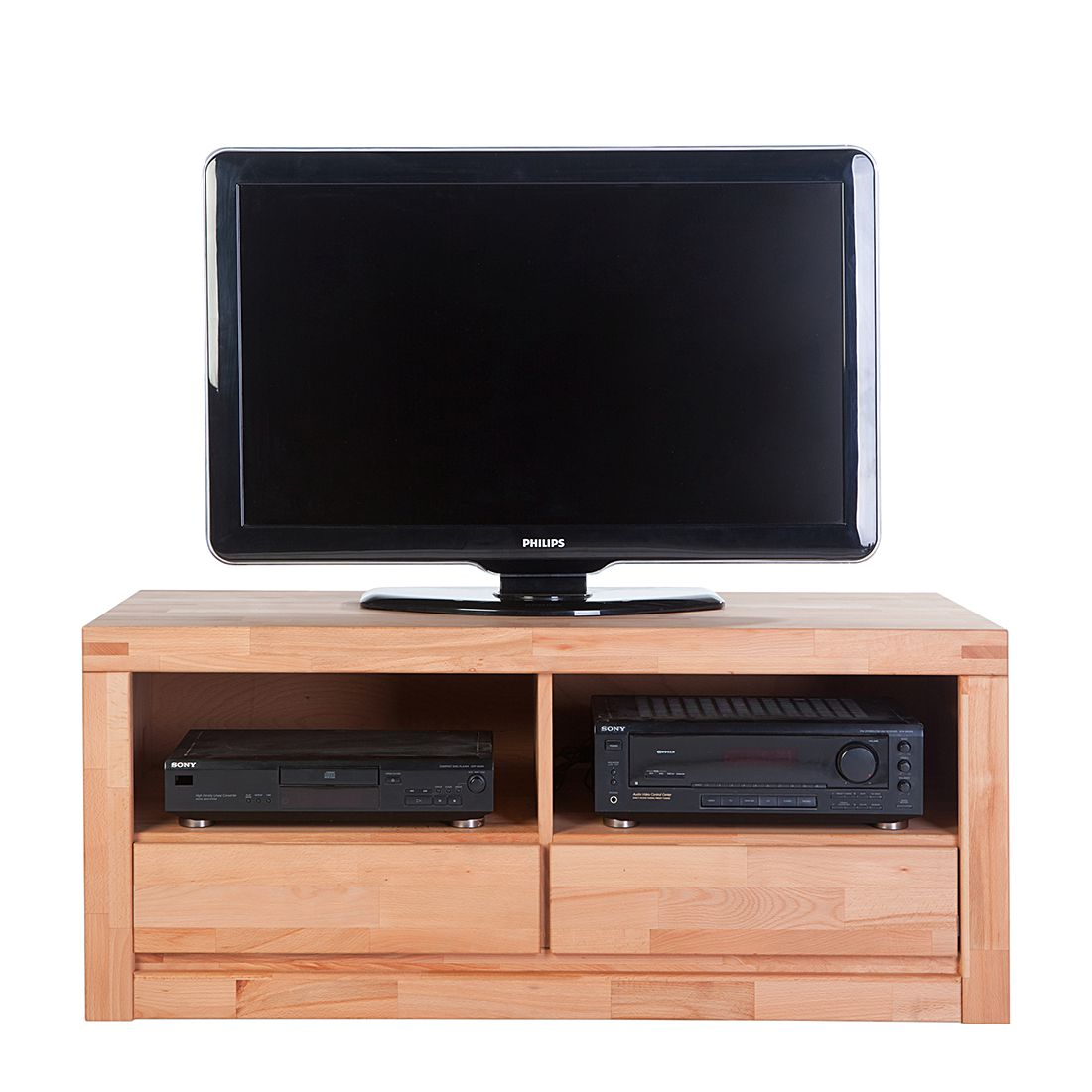 tv lowboard merle kernbuche massiv ge lt. Black Bedroom Furniture Sets. Home Design Ideas