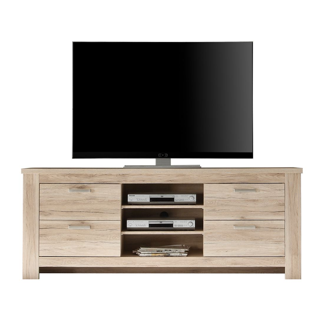 tv lowboard rostock iii eiche sanremo sand dekor kerkhoff kaufen. Black Bedroom Furniture Sets. Home Design Ideas