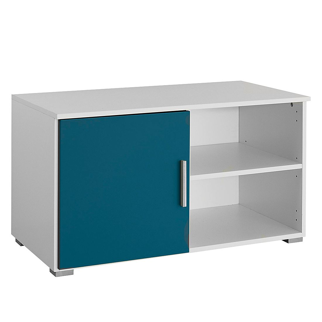 tv lowboard saresa wei petrol rauch pack s g nstig online kaufen. Black Bedroom Furniture Sets. Home Design Ideas