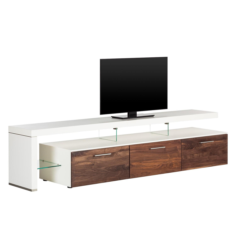 trendteam mt31660 tv m bel lowboard nussbaum satin nachbildung bxhxt 146x45x52 cm smash. Black Bedroom Furniture Sets. Home Design Ideas