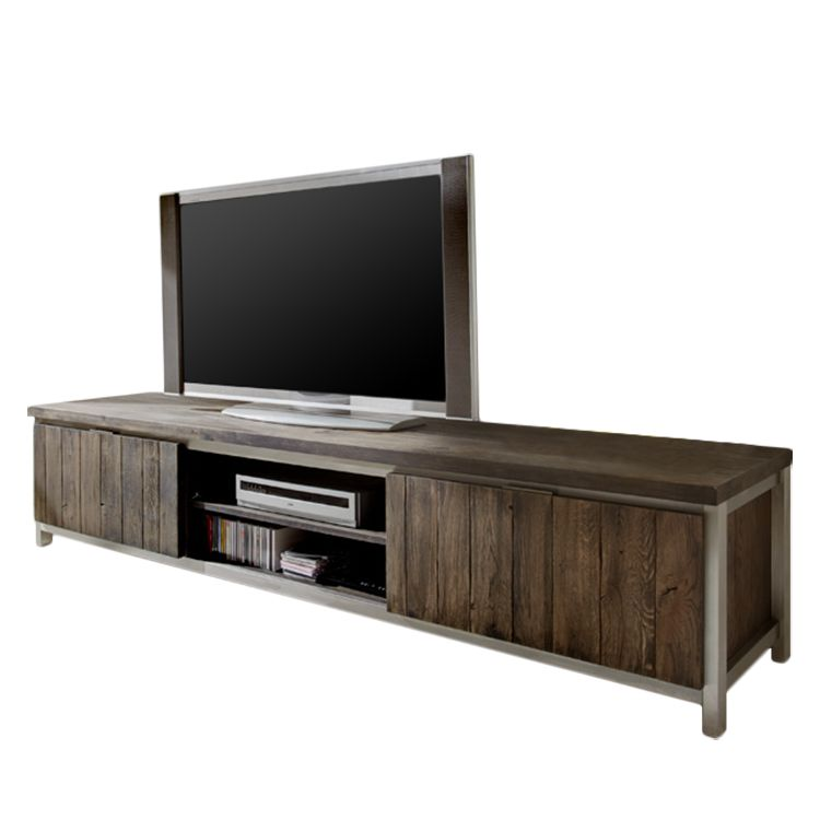 tv lowboard trentino eiche massiv pureday bestellen. Black Bedroom Furniture Sets. Home Design Ideas