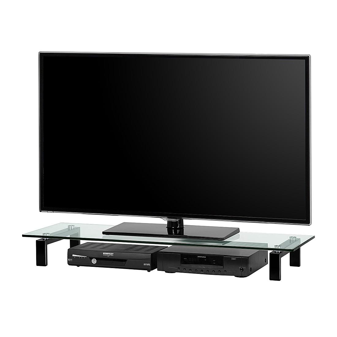 Tv-meubel Troy - Zwart - 110cm, mooved