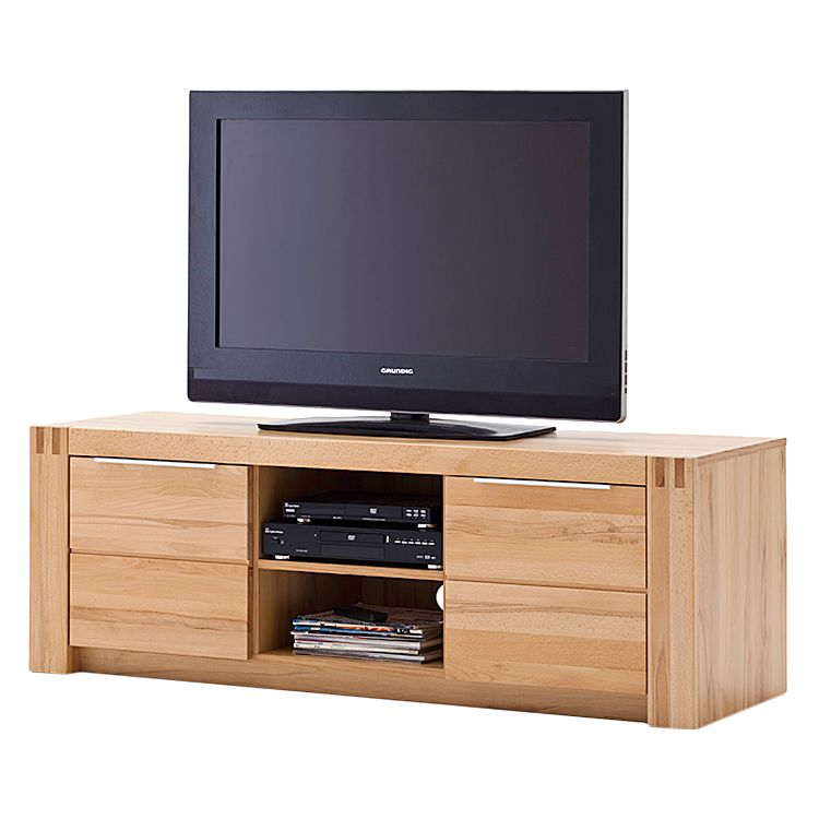 tv lowboard vigas ii buche massiv lackiert. Black Bedroom Furniture Sets. Home Design Ideas