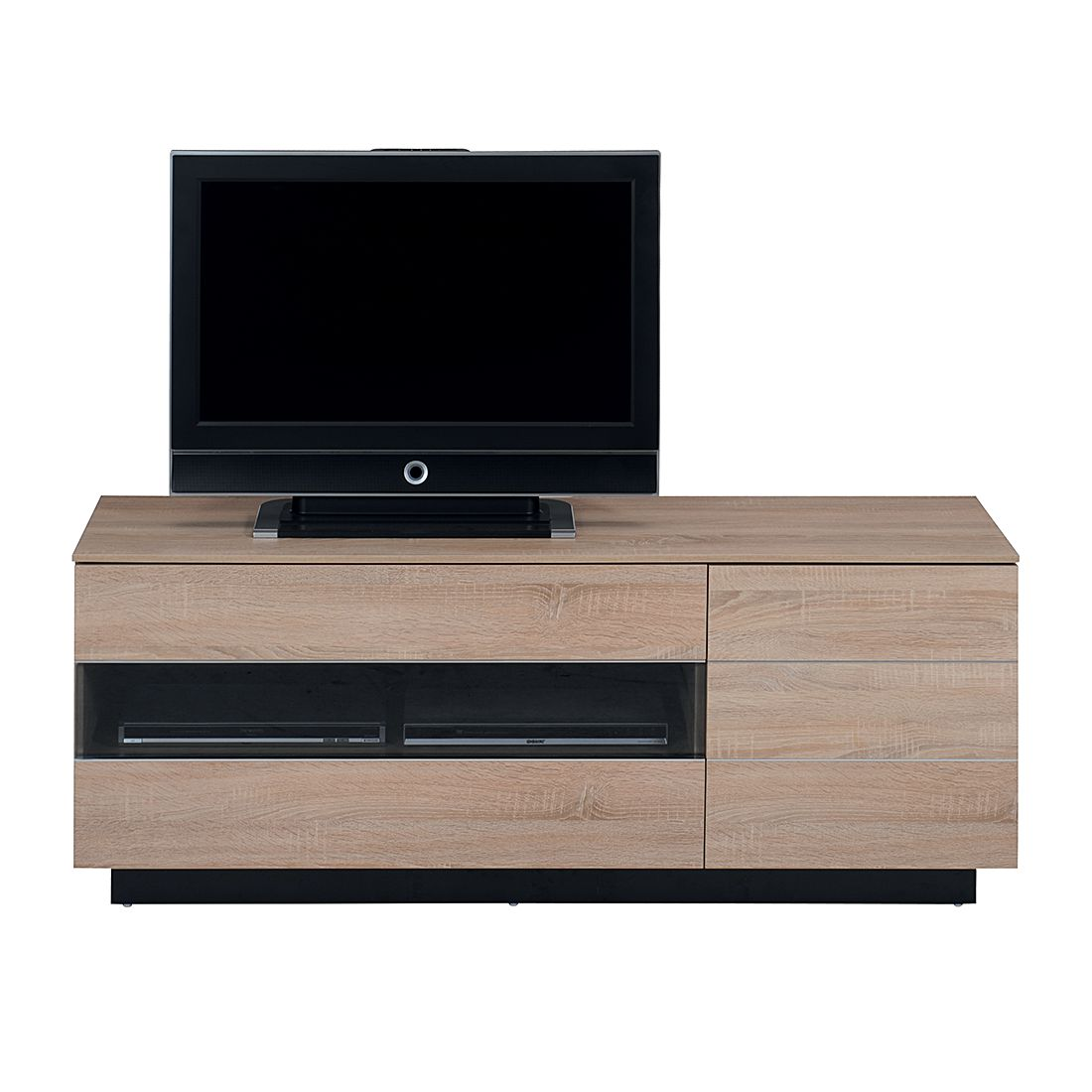 tv rack tl 6153 eiche s gerau. Black Bedroom Furniture Sets. Home Design Ideas