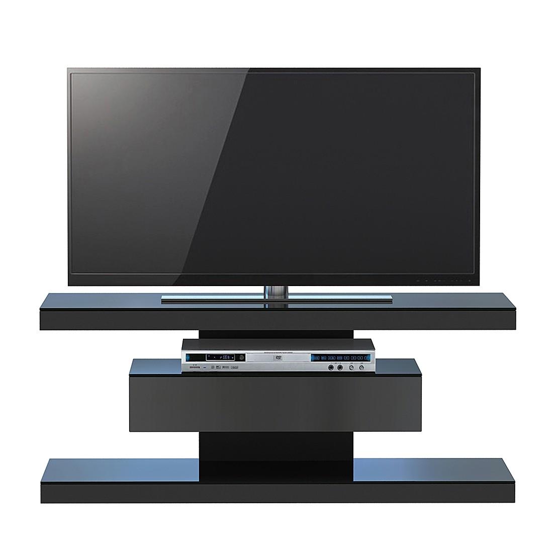 Tv-rek SL 610 - Mat zwart, Jahnke