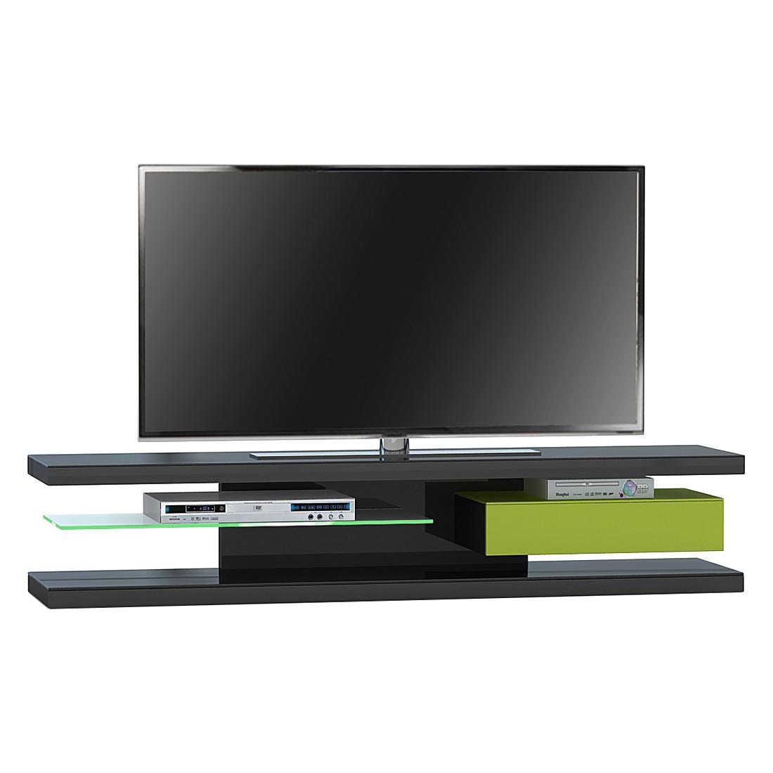 TV-Rack SL 690 – Schwarz / Grün, Jahnke online bestellen