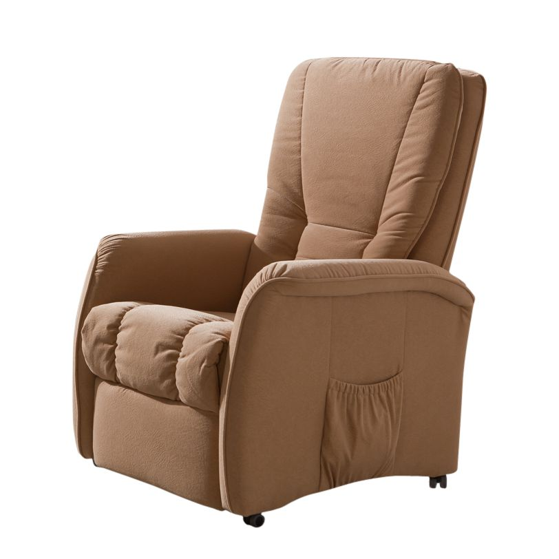 fernsehsessel droppin textil beige verstellbar tv sessel mechanisch brandolf kaufen. Black Bedroom Furniture Sets. Home Design Ideas