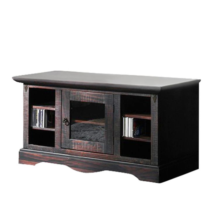 tv unterschrank glory pinie massiv dunkel gebeizt. Black Bedroom Furniture Sets. Home Design Ideas