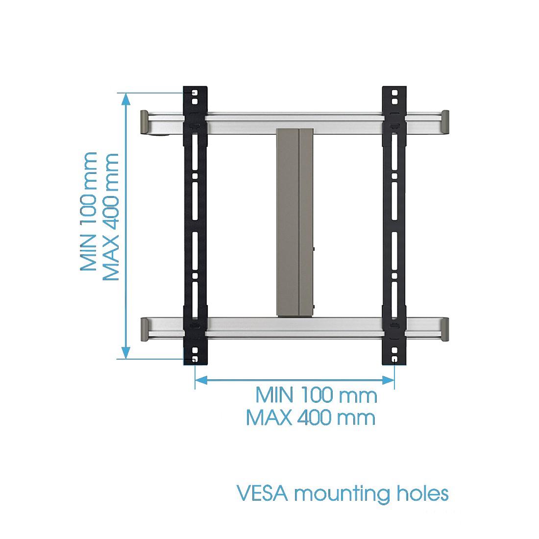 TV-Wandhalterung Thin 245 (Silber), Vogel's günstig online kaufen