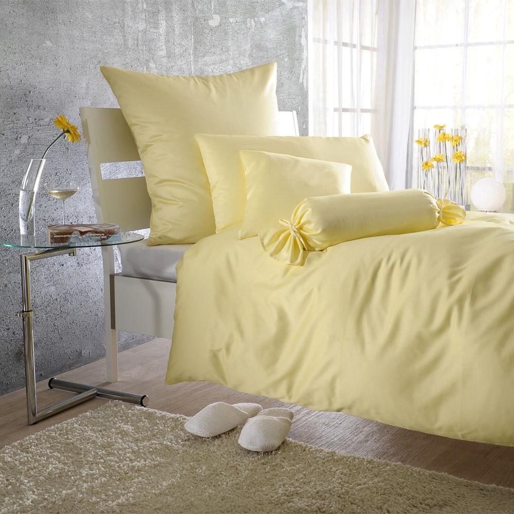 Uni Mako-Satin Bettwäsche calla – 100% Baumwolle Calla – Ausführung Bettbezug einzeln 135×200 cm, Bettwaren-Shop günstig online kaufen