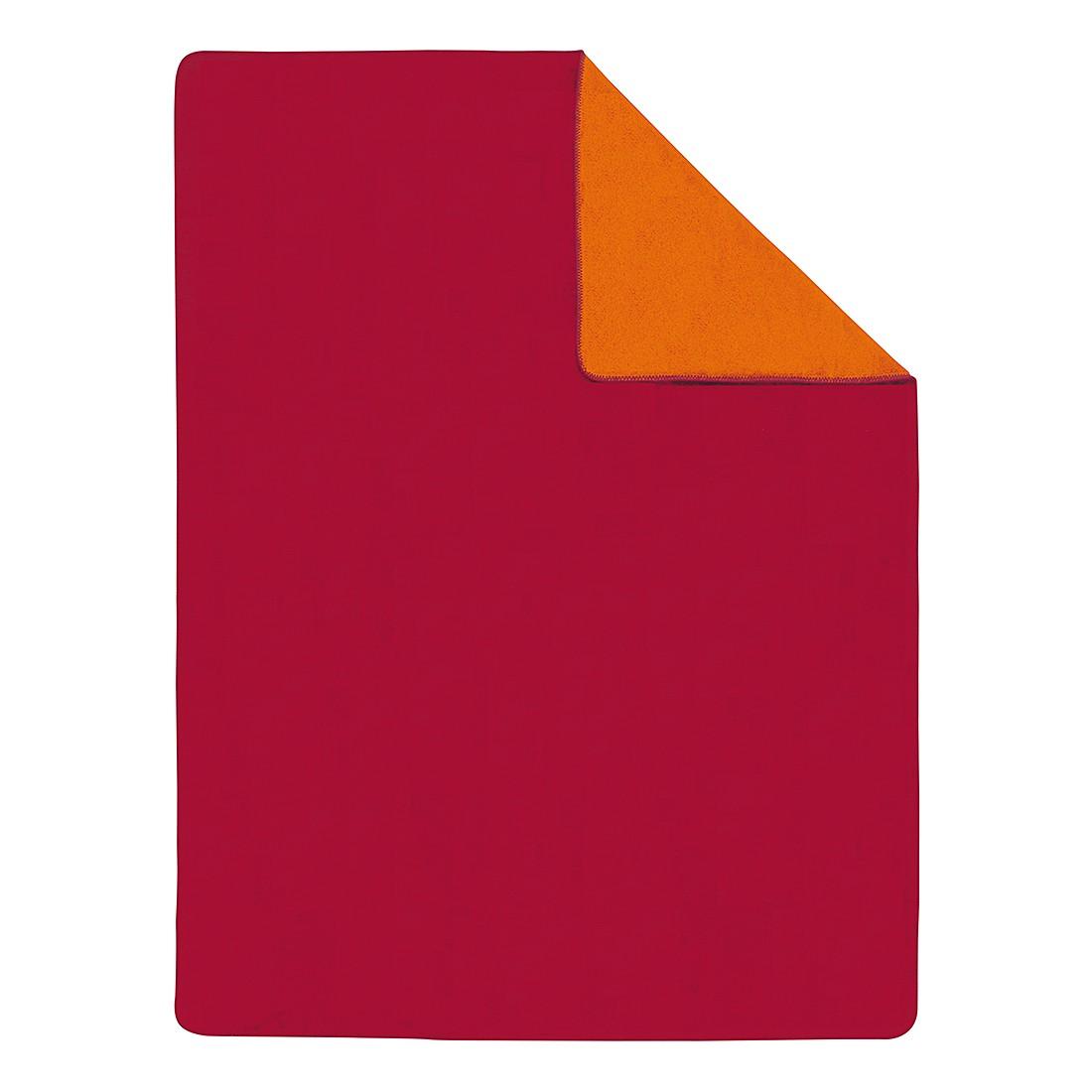 Uni Plaid Doubleface I – Rot / Orange, s.Oliver online bestellen