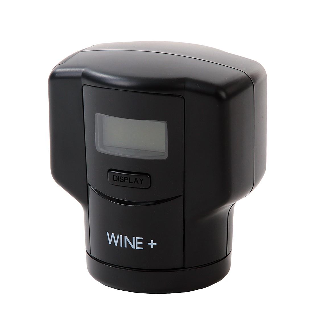 Vakuumverschluss Pump – Kunststoff – Schwarz, Unikia günstig bestellen