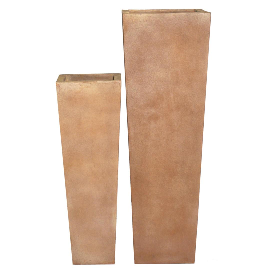 Pflanzkübel ISI Cotto – Kunststoff – Terracota – Classic Eckig – Normal – 90 x 30 cm, Viducci's Garden jetzt bestellen