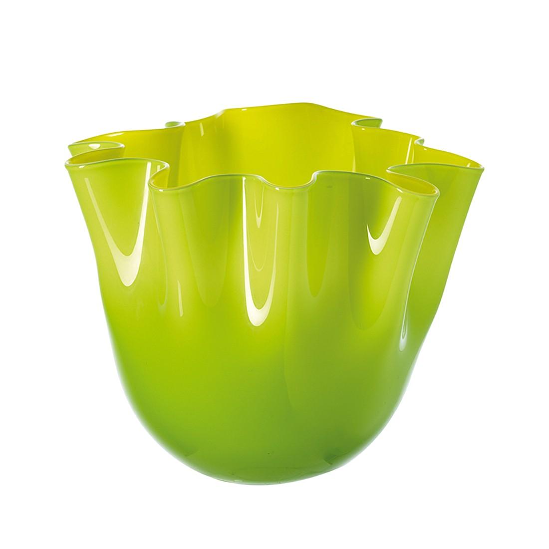 vase lia 21 cm gelb gr n leonardo m ln 000934. Black Bedroom Furniture Sets. Home Design Ideas