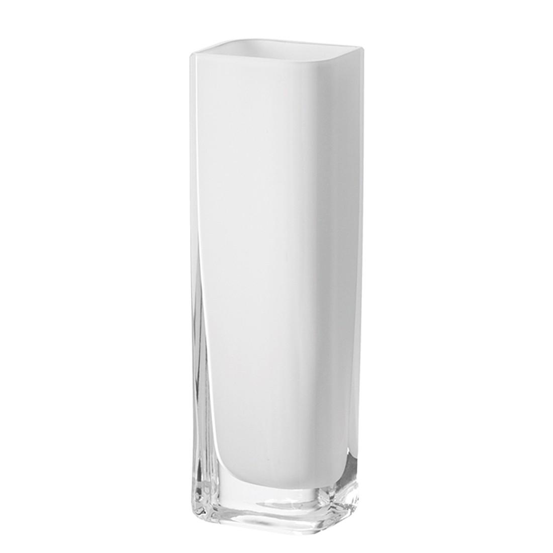 Vase Lucca - Weiß, Leonardo
