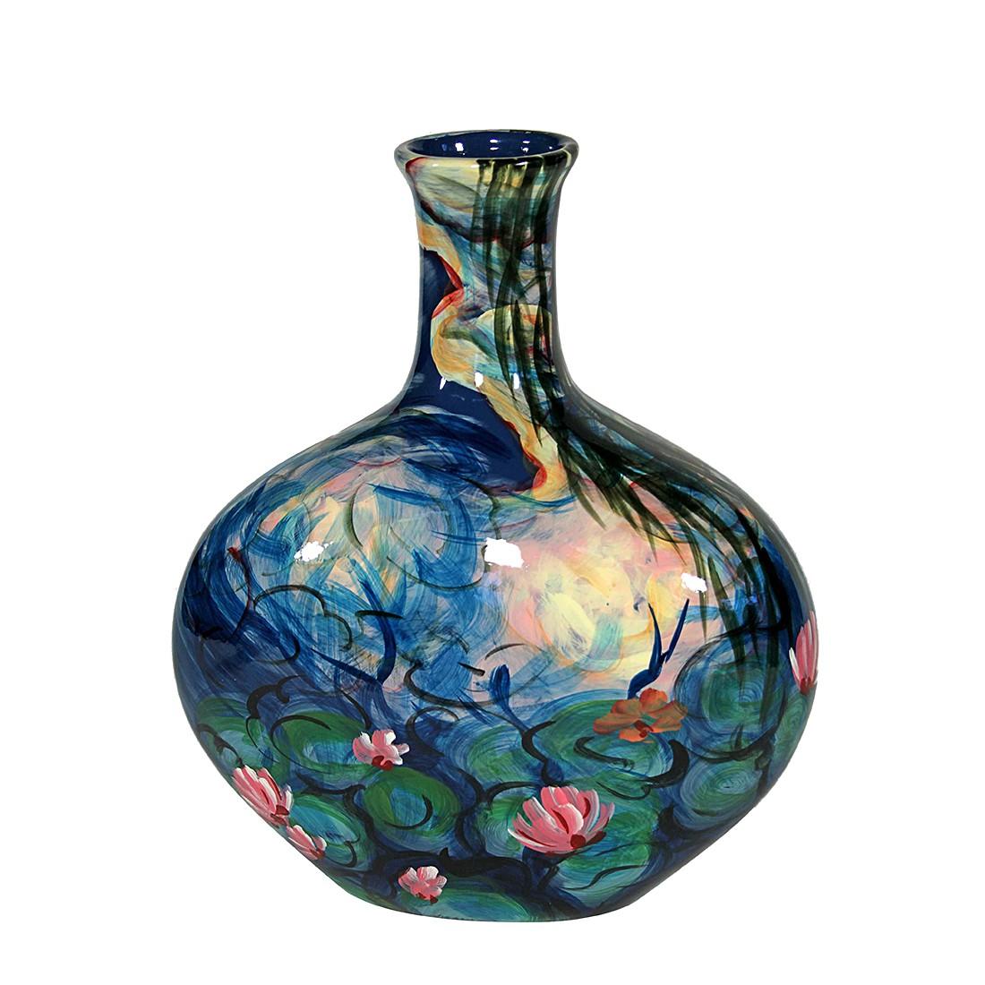 Vase Monet Seerosen I – Porzellan – Handbemalt, Art for living online bestellen