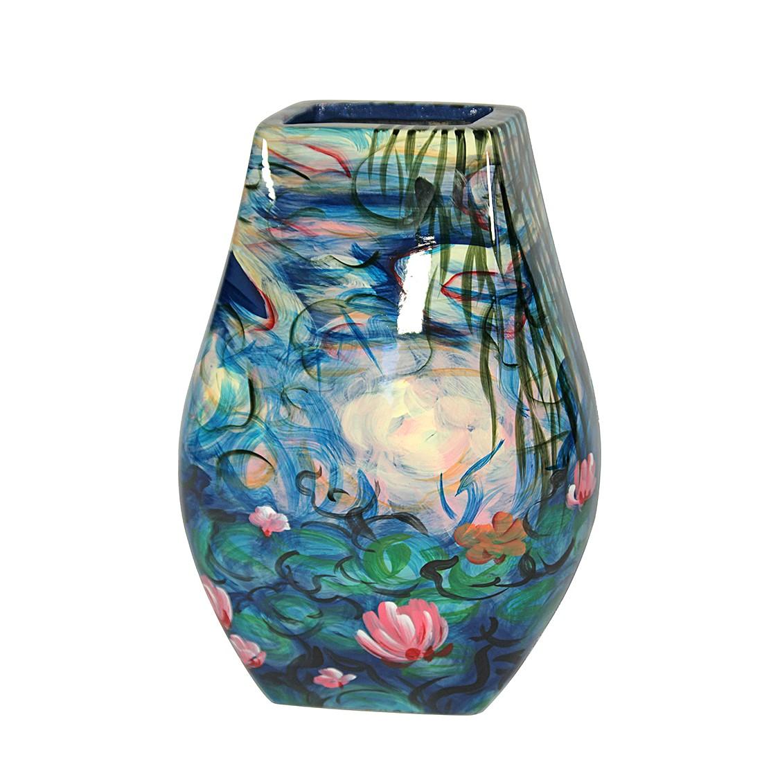 Vase Monet Seerosen III – Porzellan – Handbemalt, Art for living jetzt kaufen