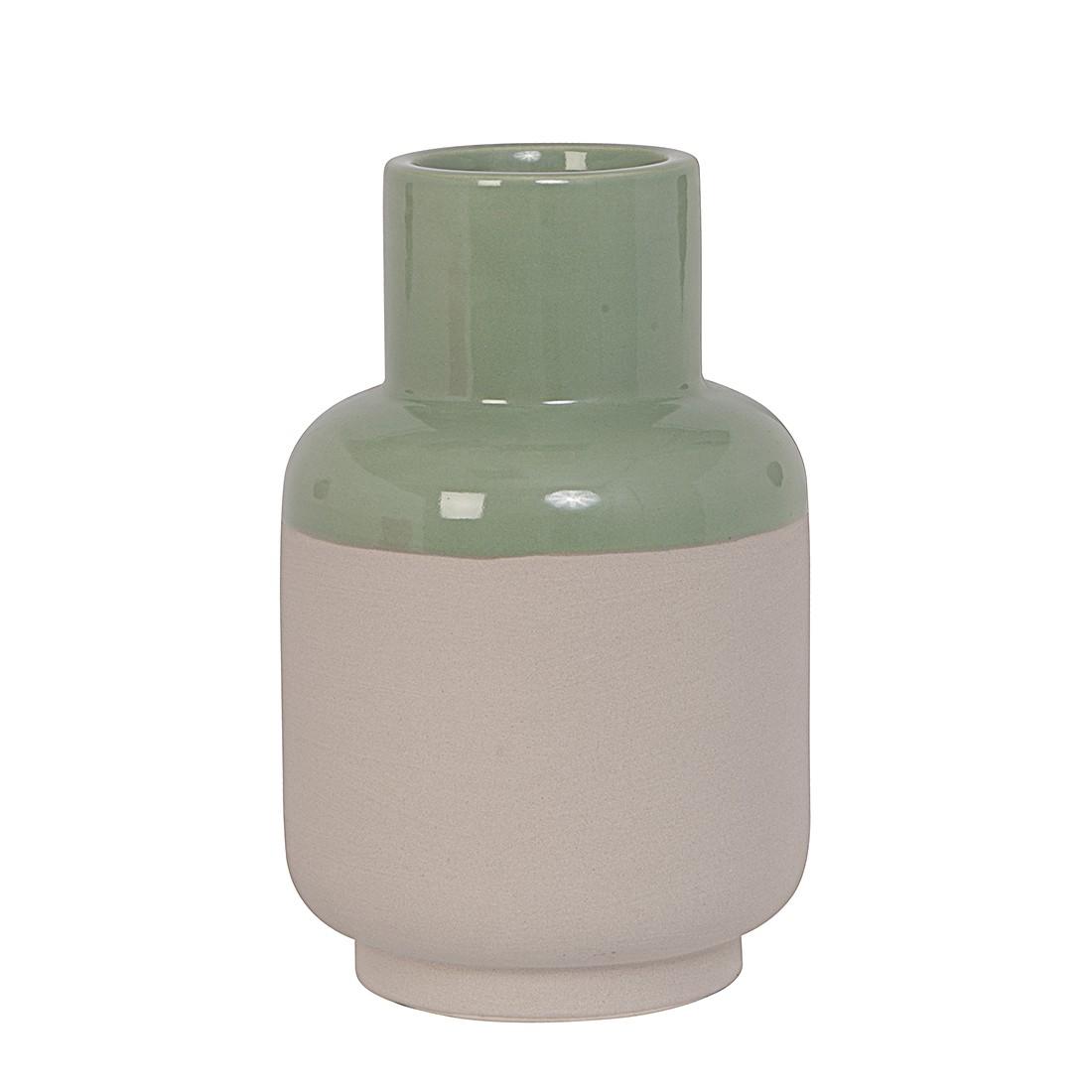 Vase Native – Lehm/Jadegrün, Present Time bestellen