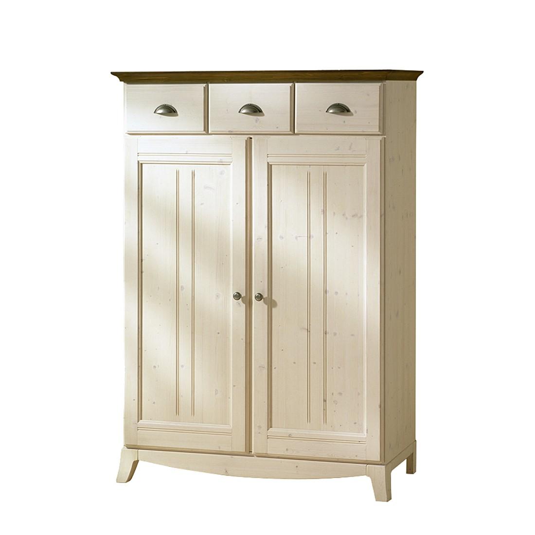 vertiko arabico fichte massivholz wei braun. Black Bedroom Furniture Sets. Home Design Ideas