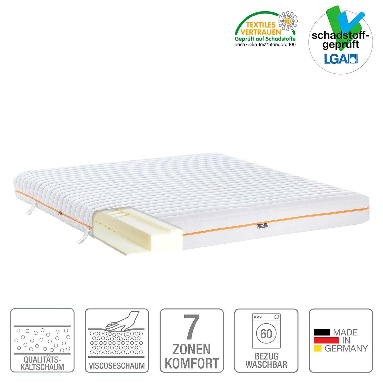 7-Zonen Visco-Kaltschaummatratze mazzy – 180 x 200cm – H2 bis 80 kg, mazzy online kaufen