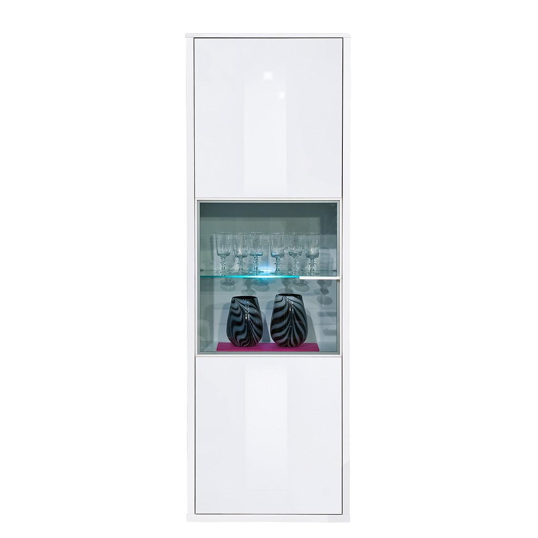 vitrine game plus wei hochglanz arte m g nstig. Black Bedroom Furniture Sets. Home Design Ideas