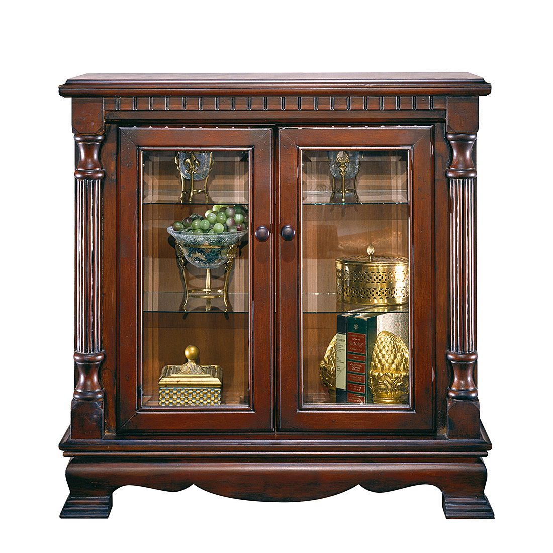 preisvergleich eu vitrine nussbaum. Black Bedroom Furniture Sets. Home Design Ideas