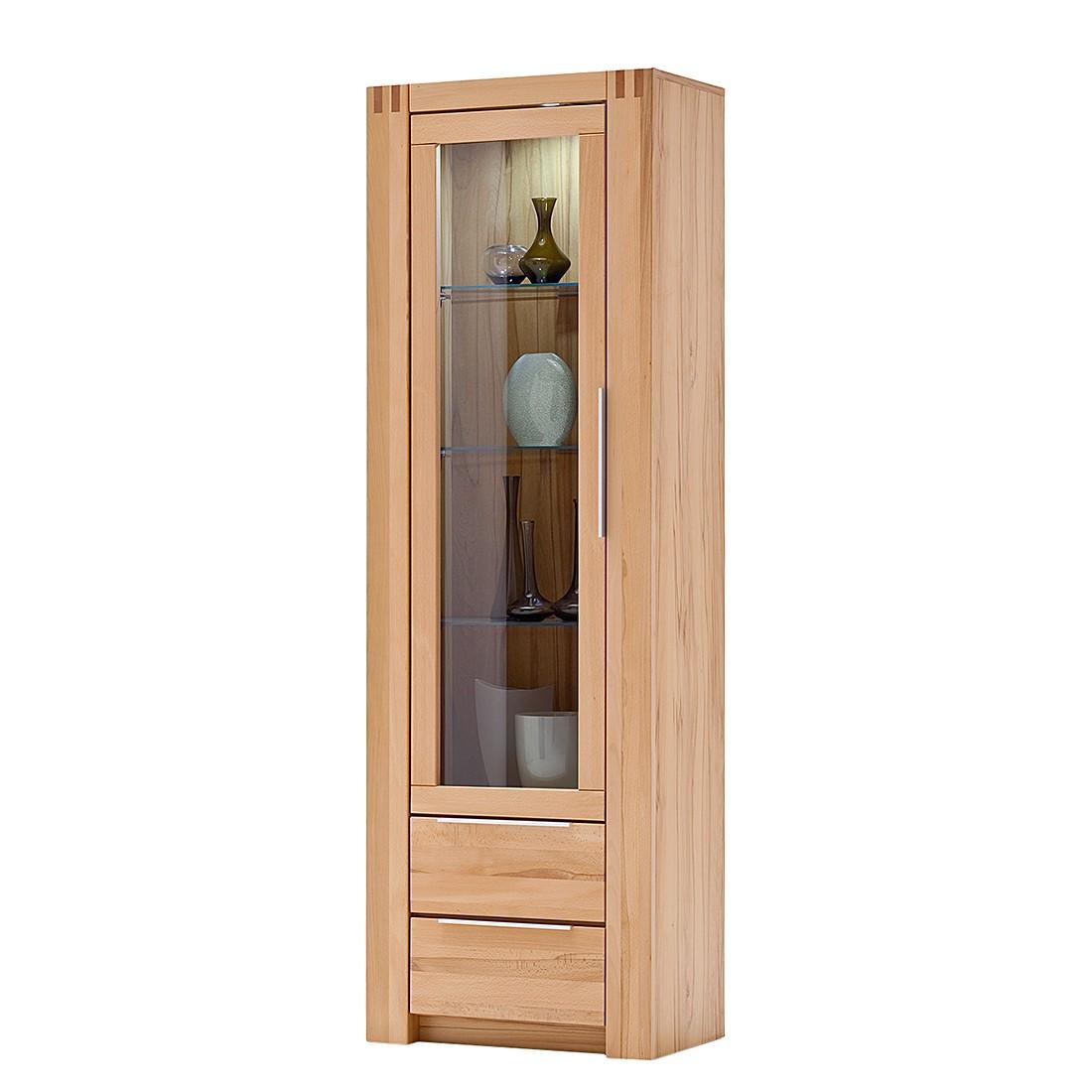 eek a vitrine vigas buche teilmassiv lackiert t ranschlag links jung s hne g nstig. Black Bedroom Furniture Sets. Home Design Ideas