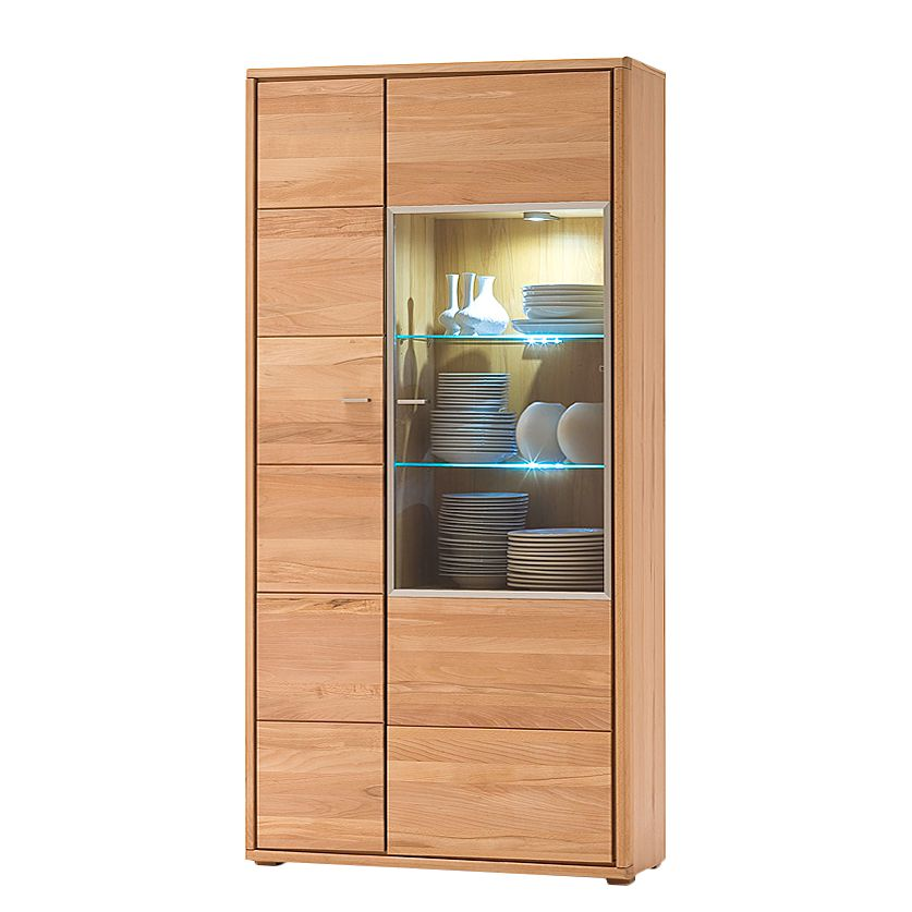 eek a wohnwand tala i 4 teilig parsolglas eiche teilmassiv ge lt jung s hne kaufen. Black Bedroom Furniture Sets. Home Design Ideas