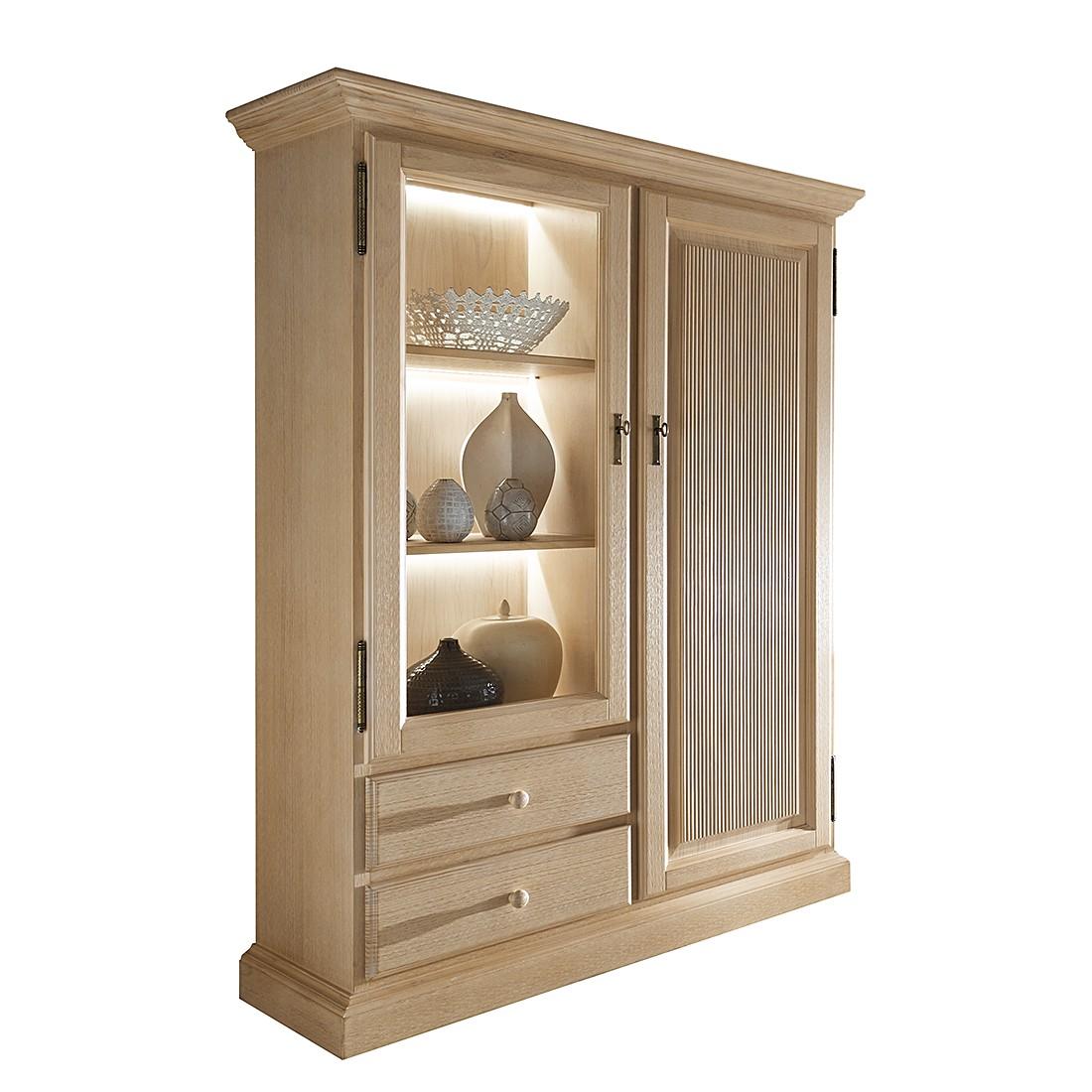 vitrinenschrank breddin iii pinie massiv ohne beleuchtung landhaus classic bestellen. Black Bedroom Furniture Sets. Home Design Ideas