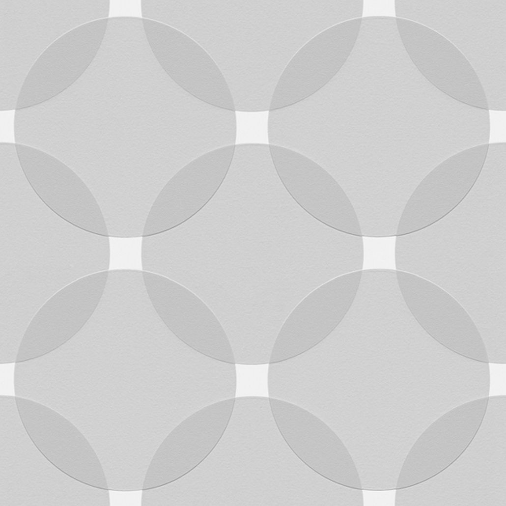 Vliestapete Aisslinger – Signalweiß, Achatgrau, Telegrau – Glatt, Livingwalls günstig online kaufen