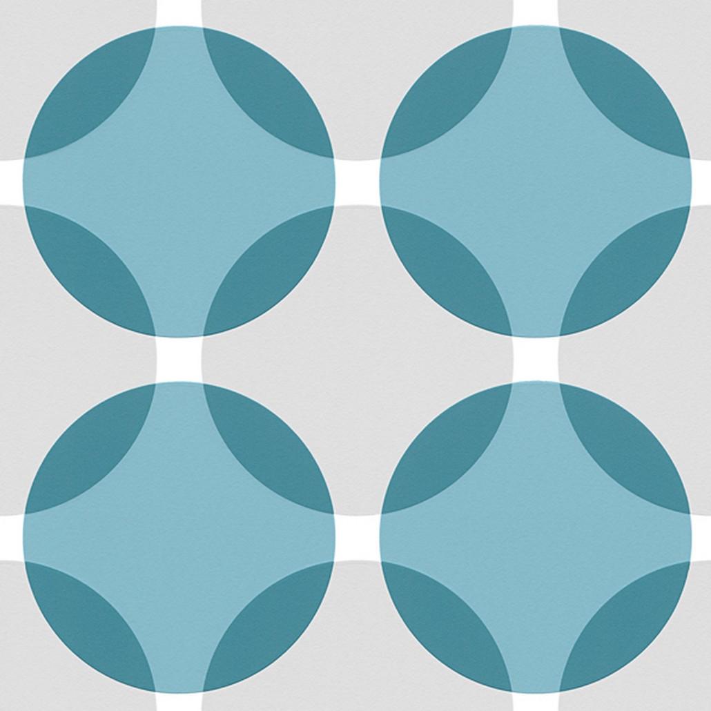 Vliestapete Aisslinger – Signalweiß, Grauweiß, Pastellblau, Azurblau – Glatt, Livingwalls günstig kaufen