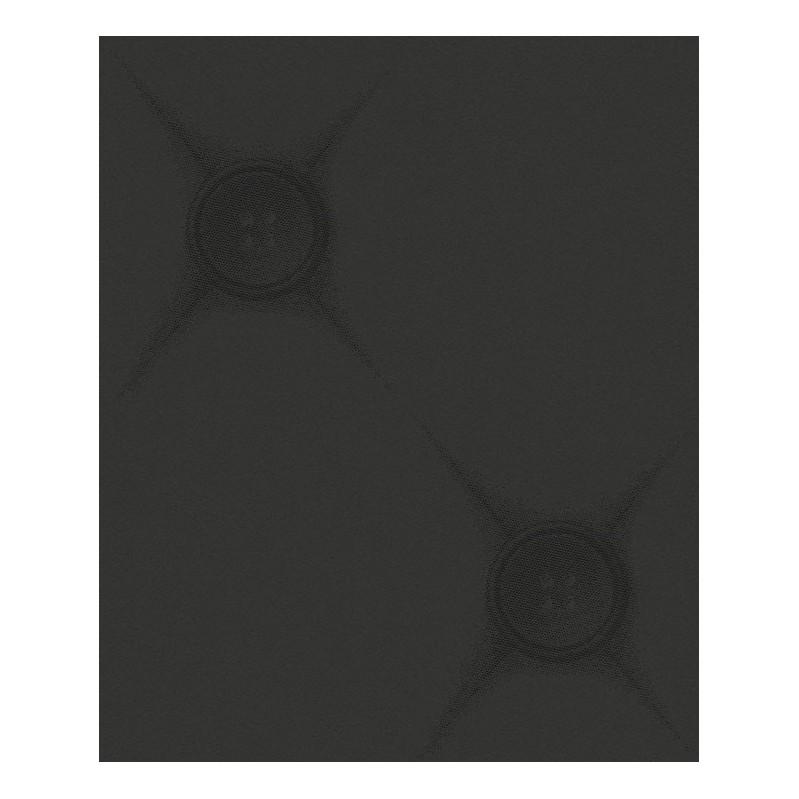 Vliestapete Chesterfield – schwarz – fein strukturiert – glatt, Lars Contzen günstig kaufen