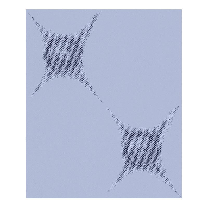 Vliestapete Chesterfield – taubenblau, saphirblau – fein strukturiert – glatt, Lars Contzen jetzt bestellen