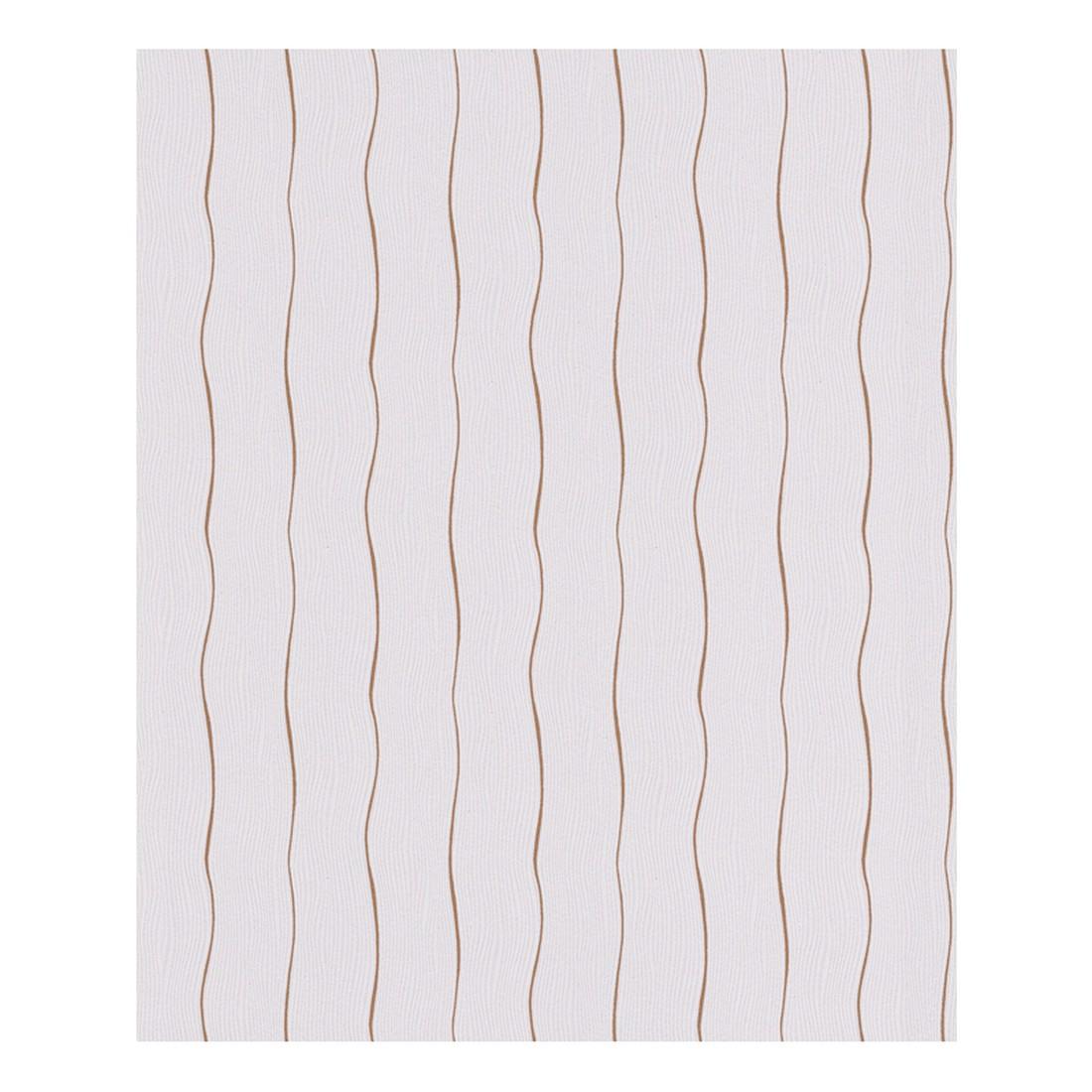 vliestapete private glam grau kupferfarben fein strukturiert sch ner wohnen kollektion. Black Bedroom Furniture Sets. Home Design Ideas