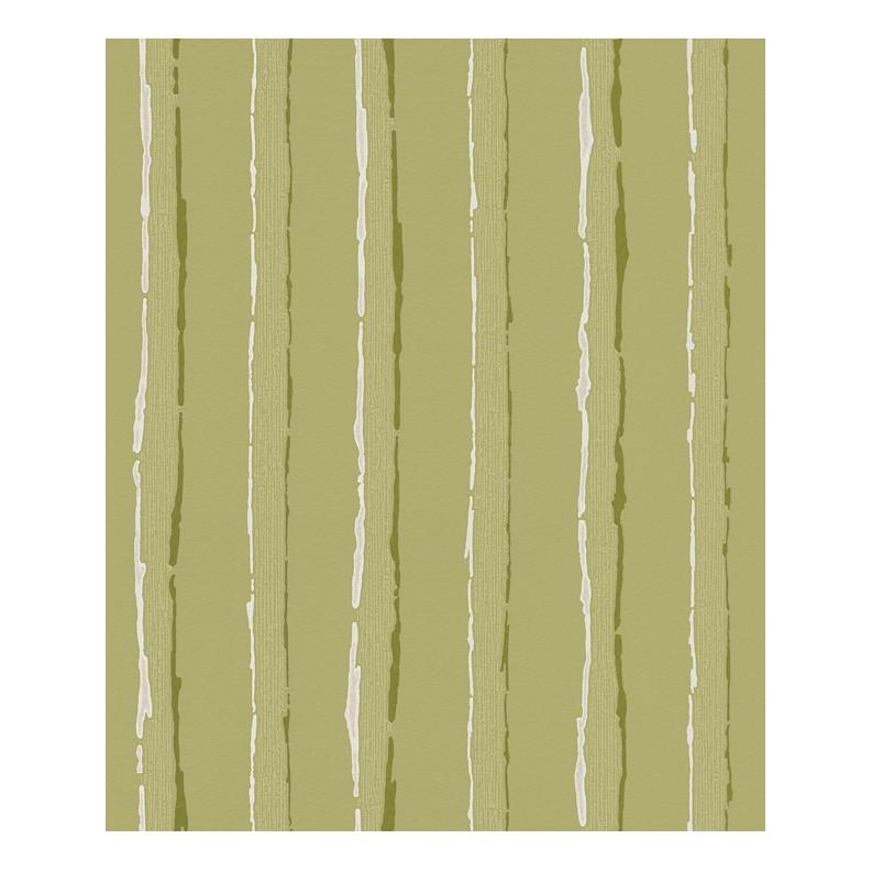 Vliestapete Schöner Wohnen – olivgelb, schilfgrün, signalweiß – fein strukturiert – glatt – Modell 2, Schöner Wohnen Kollektion kaufen