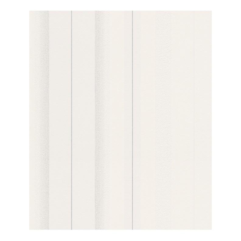 Vliestapete Schöner Wohnen – signalweiß, verkehrsweiß, silberfarben – fein strukturiert – glatt – Modell 2, Schöner Wohnen Kollektion jetzt kaufen