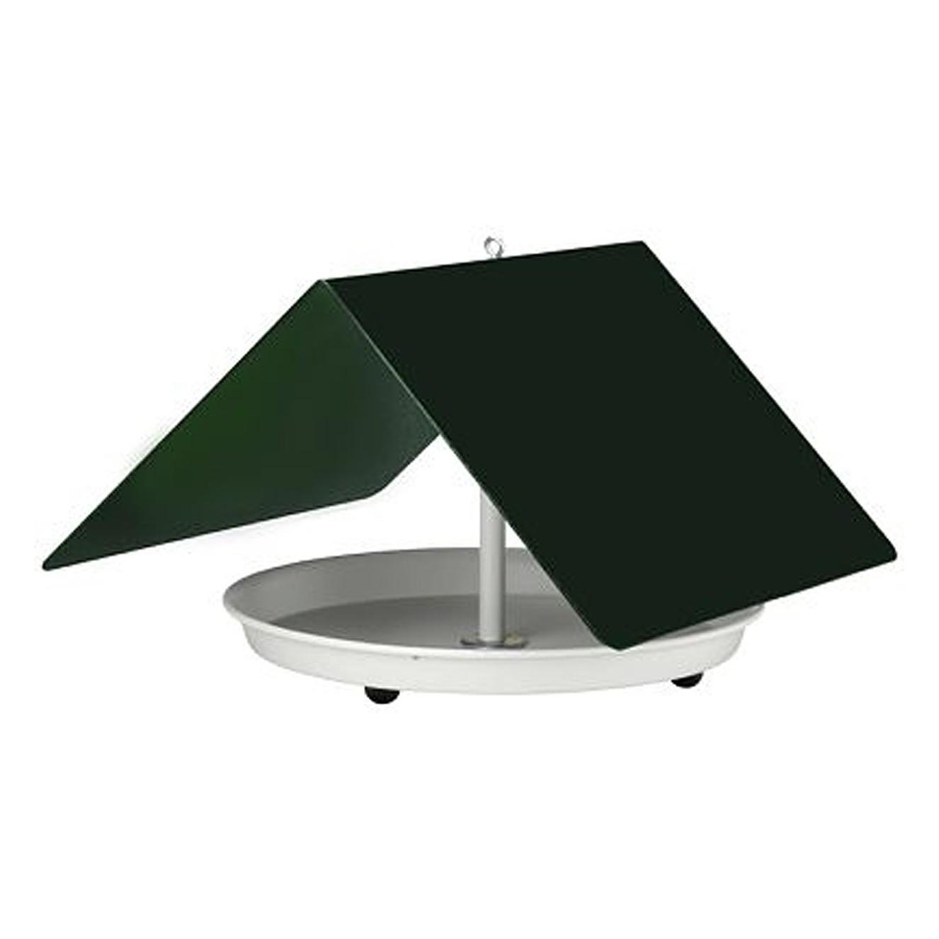 Vogelhaus Birdy - Aluminium - Grün, Flora