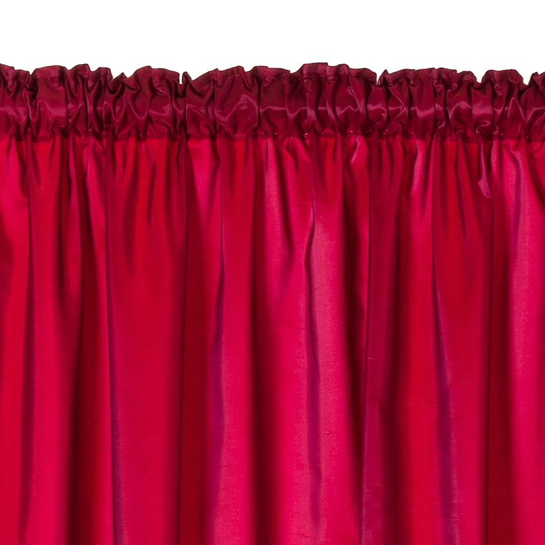 Vorhang mit Kräuselband – Pink, Home24Deko günstig bestellen