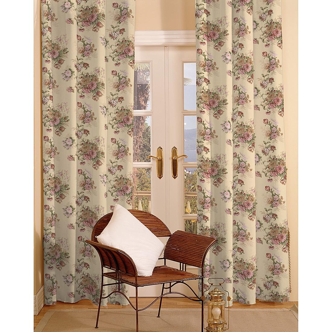 dekoria senschal mit sen rosen beige schal vorhang. Black Bedroom Furniture Sets. Home Design Ideas