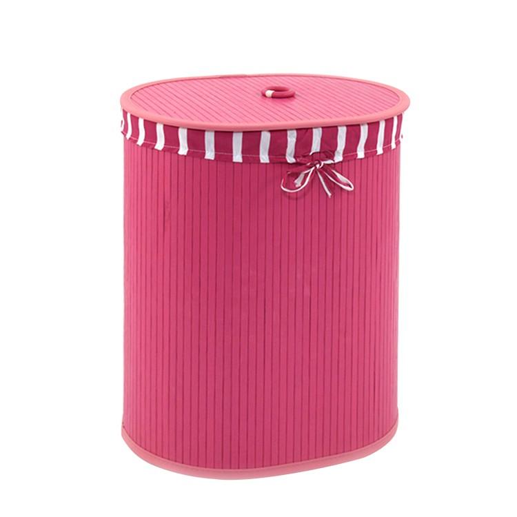 Wäschebehälter Madison – Pink, Flechtwaren Müller bestellen