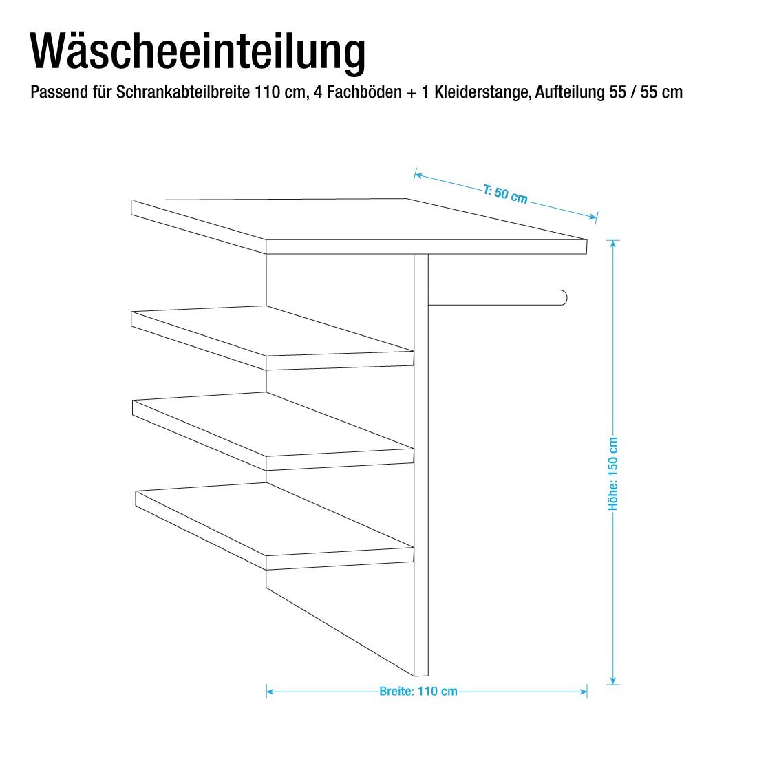 110er Wäscheeinteilung - Oakland´s