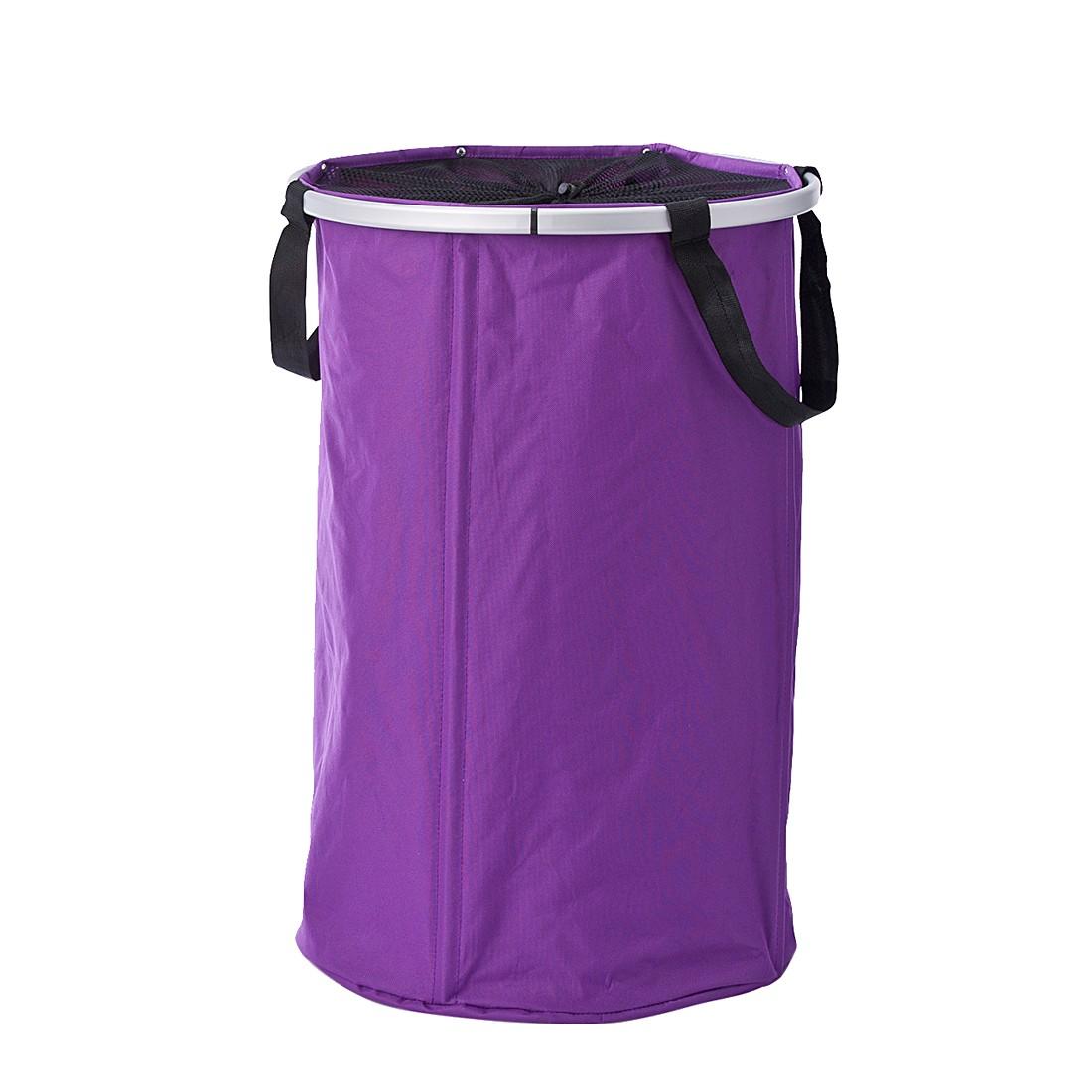 Wäschesammler Mesa – lila, Zeller günstig kaufen