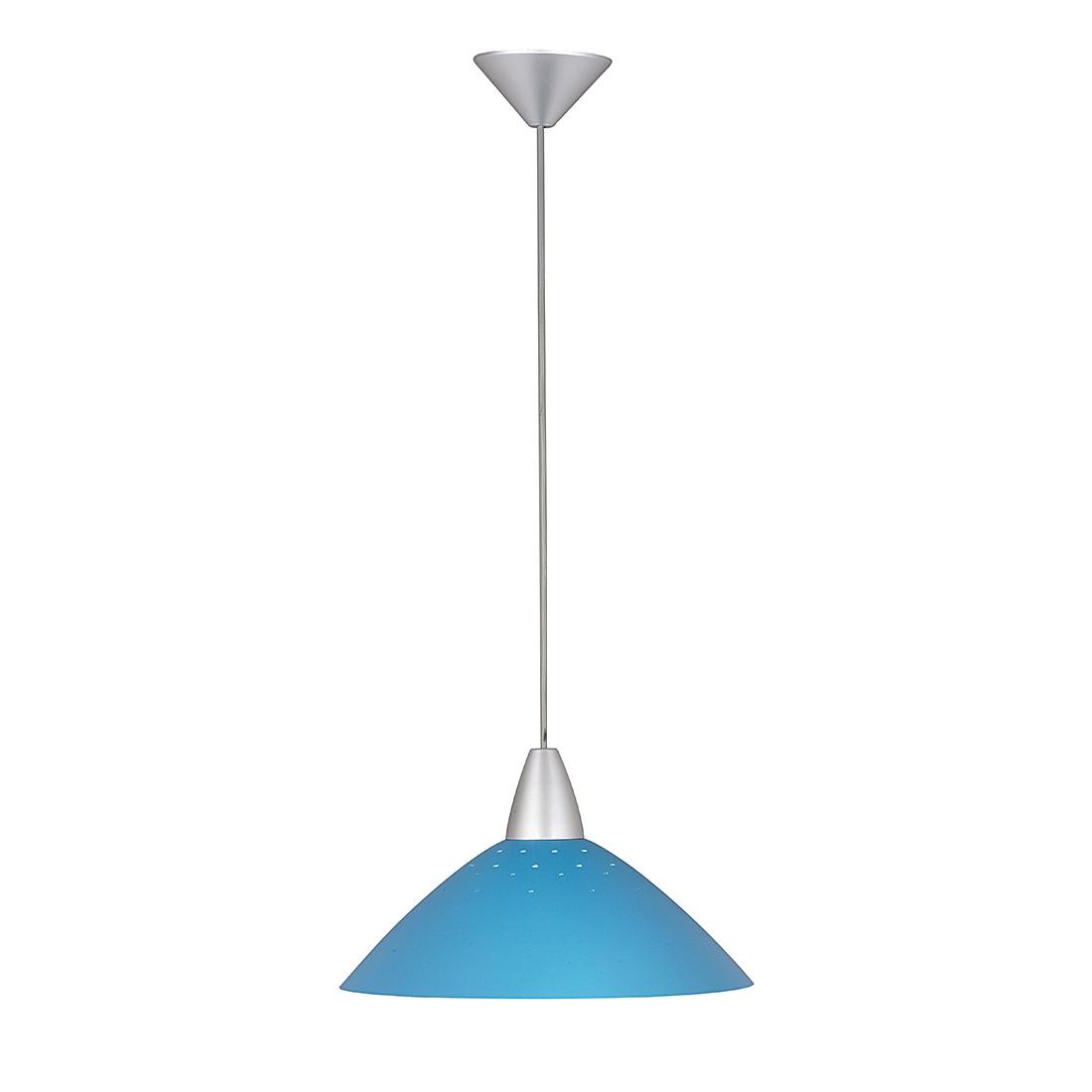 EEK A++, Pendelleuchten Sally – Metall/Glas – Schwarz – 1-flammig, Brilliant günstig bestellen