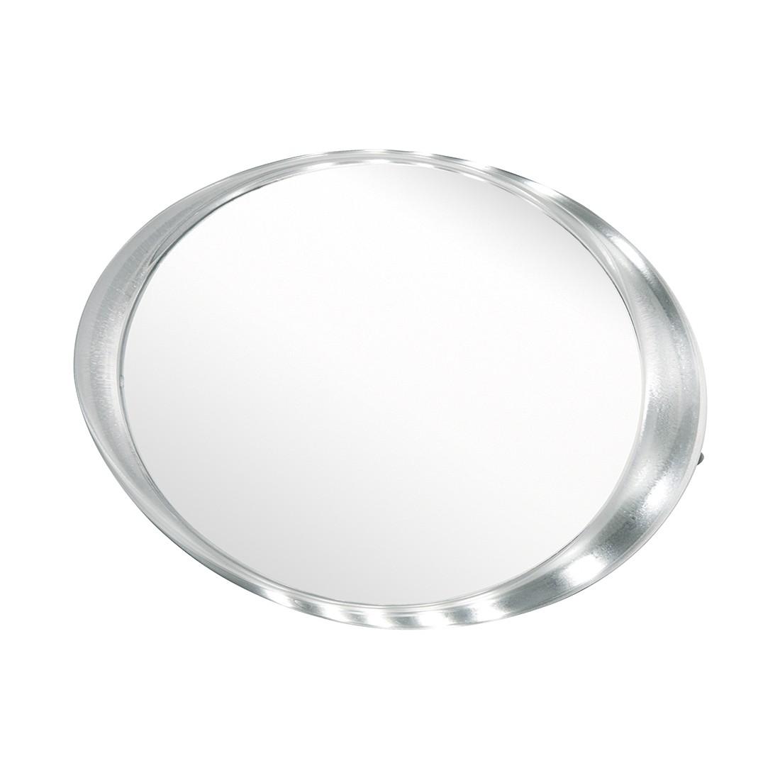 Wand-/Standspiegel Kate – Chrom, mit LED-Beleuchtung, Sanwood günstig online kaufen
