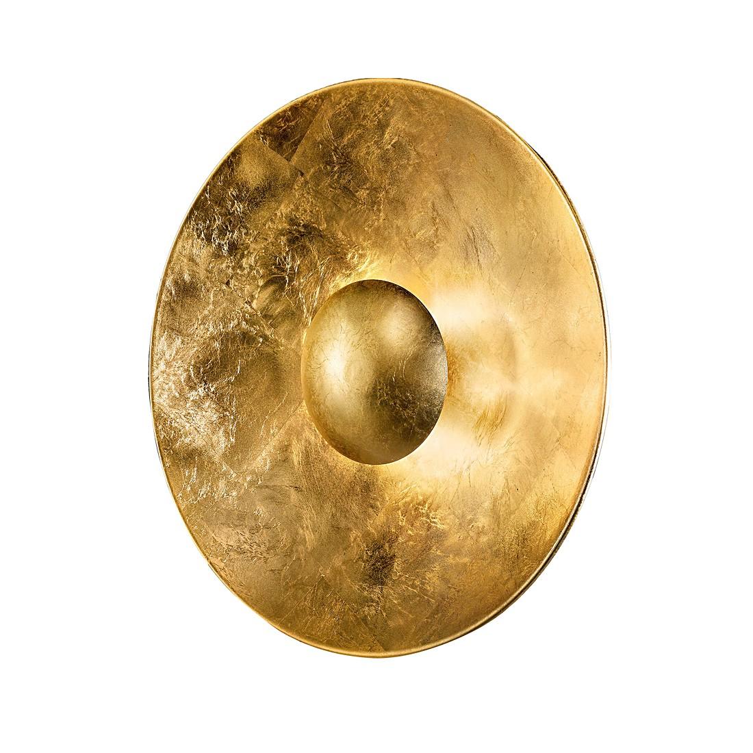 Deckenleuchte aura sol gold metall glas gold 4 flammig for Deckenleuchte gold