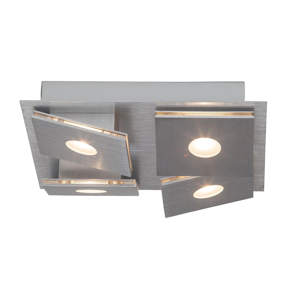wand und deckenleuchte exact metall kunststoff silber 1 flammig brilliant living a g nstig kaufen. Black Bedroom Furniture Sets. Home Design Ideas