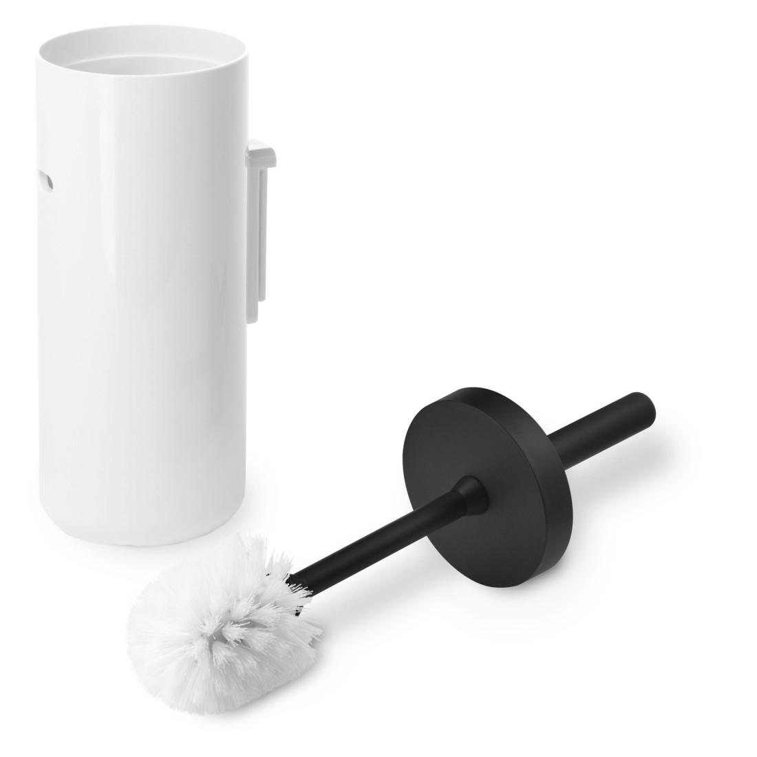 Wand-WC-Garnitur Lunar – ABS-Kunststoff Weiß/Schwarz, Authentics online bestellen