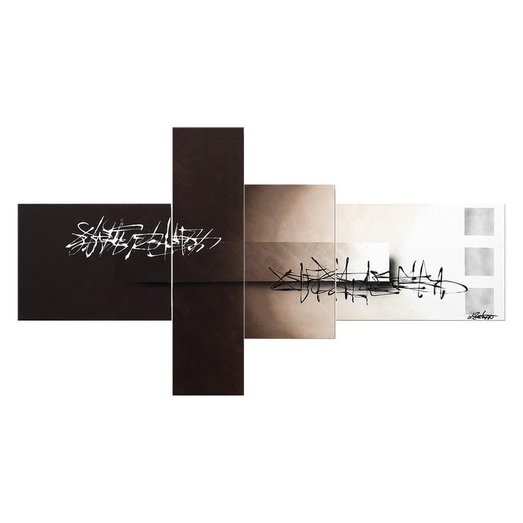 Wandbild Between Night & Day – 100% handgemalt – Größe L: 80 x 160 cm, WandbilderXXL günstig