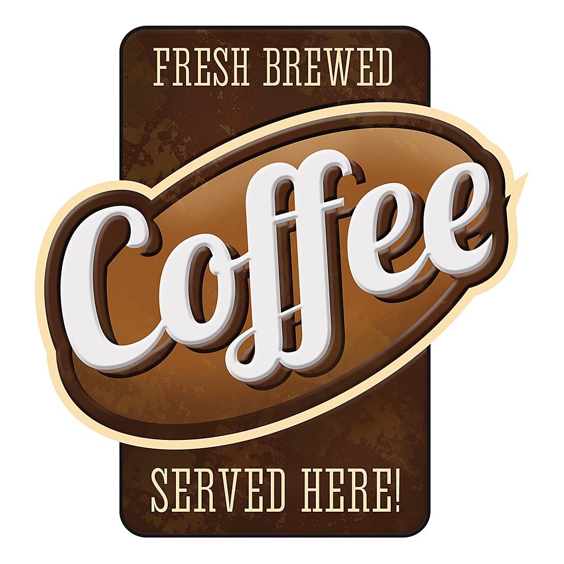 Wandbild Coffee served here, Pro Art online bestellen